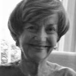 headshot of Joy Dohr in black and white