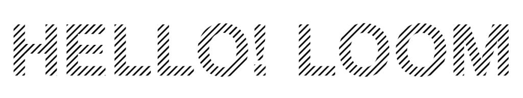 Hello! Loom Logo