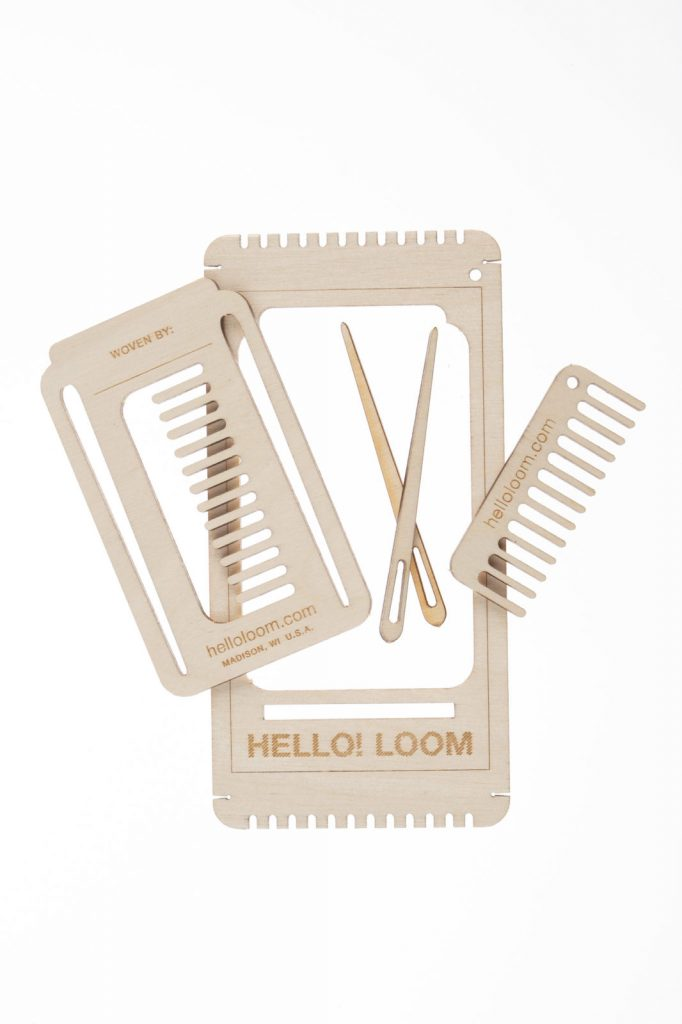 Hello! Loom today, displaying its various pop-out elements (2019).