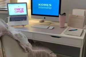 Kohl's internship_home work station 2020