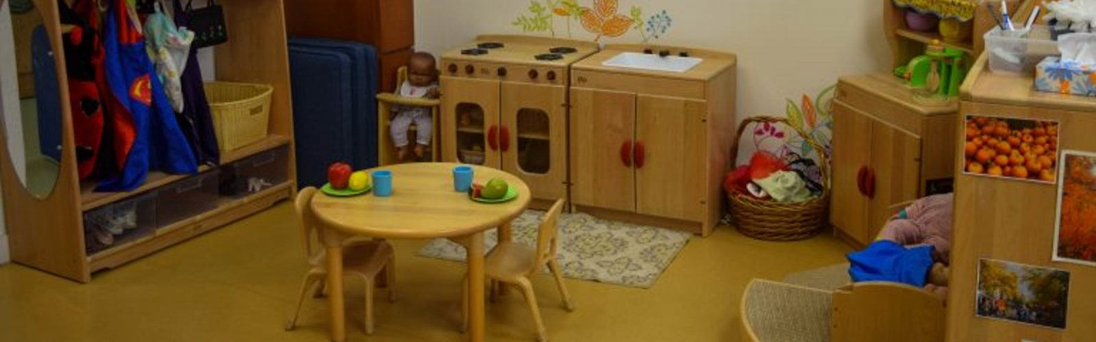 play area of the child development lab